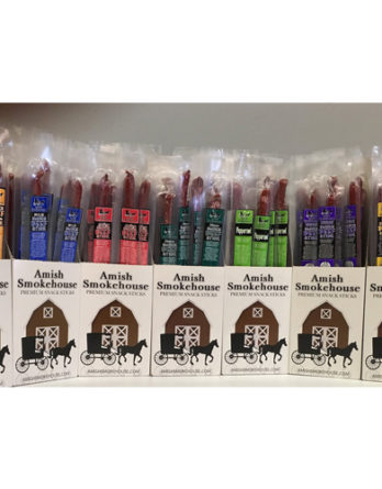 Amish Smokehouse Variety Beef Sticks (All 7 Flavors)